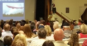Town Hall meeting on Willow Fire 7-28-15