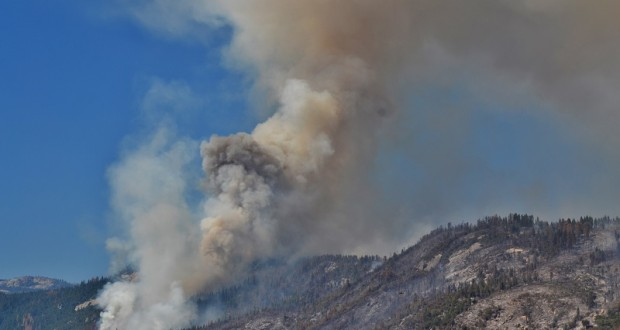 Willow Fire activity picks up 5 p.m. 7-27-15
