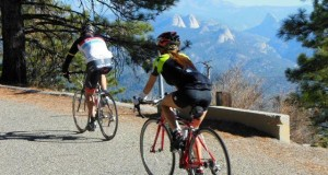Mountain vistas on Grizzly Century Bike Run