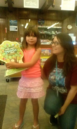 reading to the rhythm at the north fork library sierra