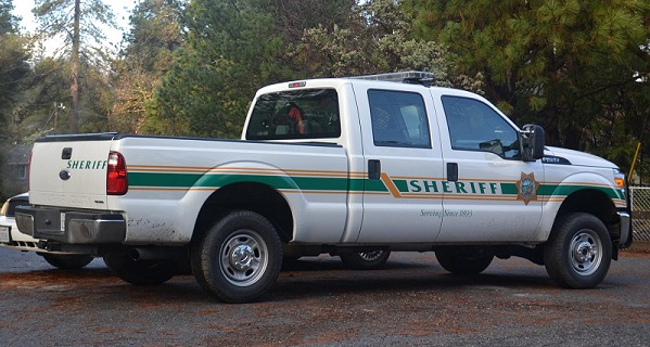 Sheriff's pickup