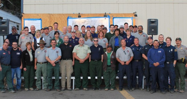 South Central Sierra Interagency Incident Management Team - photo from SCSIIMT Facebook page