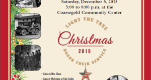 Coarsegold Community CROPPED Center Tree Lighting 1