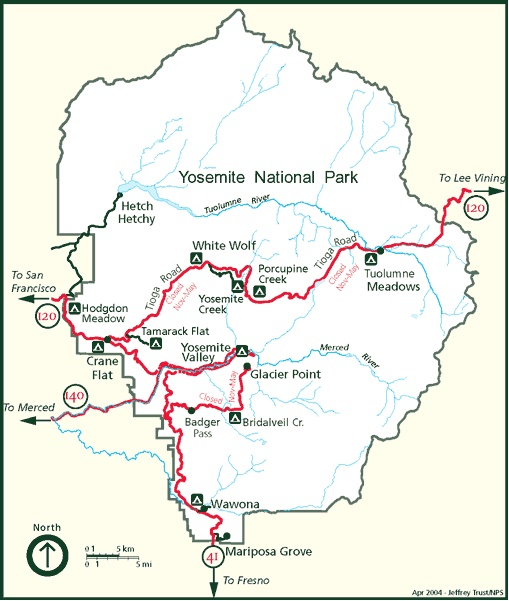 yosemite campsite map with Snow Conditions And Road Closures In Yosemite on C ing In Mono Village also C ing In Sequoia National Park likewise Yosemite Valley Lodge as well Cranec likewise Valeytab.