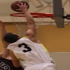 Mason Ellis Minarets Basketball squeezed