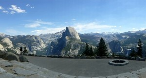 Glacier Point amphitheater - photo by Candace Gregory