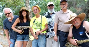 Steve Johnson and those Bobtones - photo courtesy Mariposa Co Arts Council