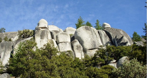 Rock formations on Scenic Byway - photo courtesy Scenic Byway Association