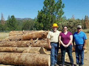 Tom Burdette - North Fork CDC; Justine Reynolds of Yosemite-Sequoia RC&D Council; Gary Walker - North Fork Rancheria and North Fork CDC Tribal Representative