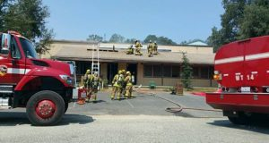 Winding incident firefighters on roof of building July 30 2016 Gina Clugston