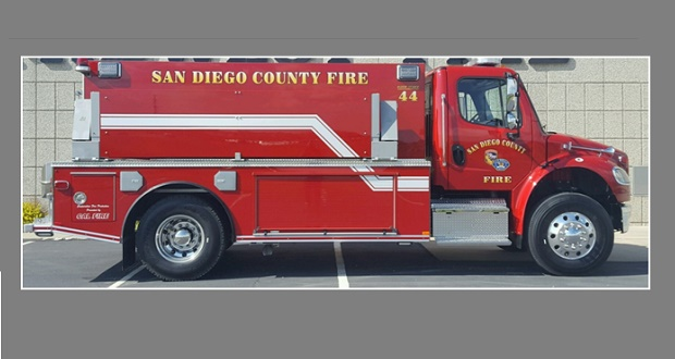 Type of tactical water tender being considered by Madera County