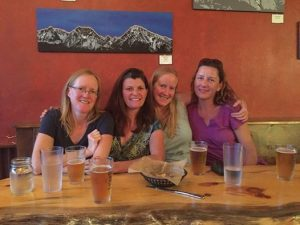 Wendy Fisher Four Ladies at Mountain Ramblers Brewery