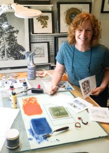 monique-wales-smiling-at-color-print-making-redtailstudios_studio-3