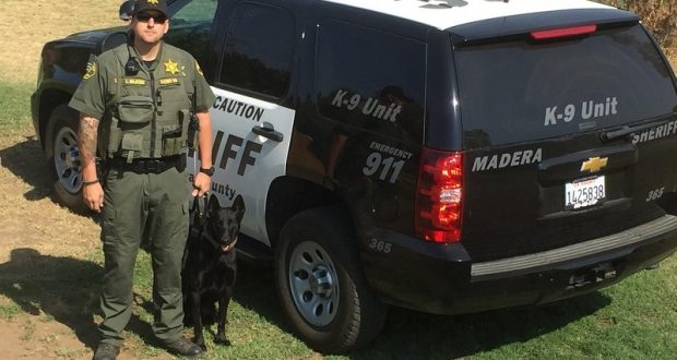 Deputy Logan Majeski and K9 Nacho - photo by Gina Clugston