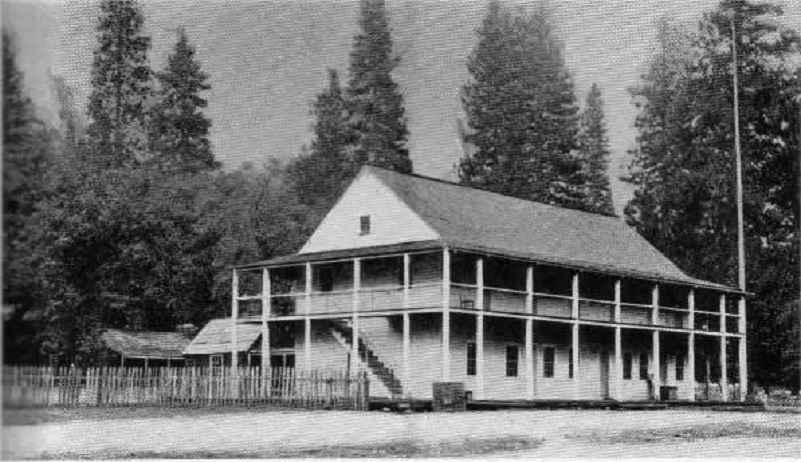 Leidig Hotel One Hundred Years in Yosemite (1931) by Carl P. Russell