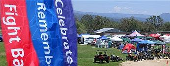 Relay for life field setup