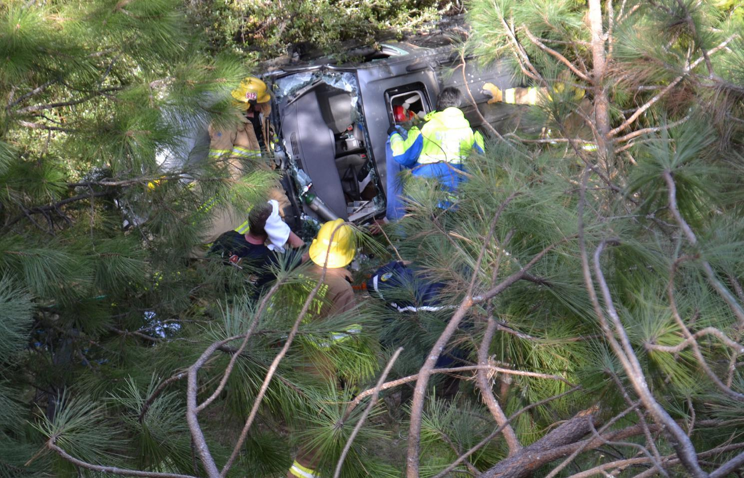 Bass Lake Woman Airlifted After Crash On Rd 222 Sierra