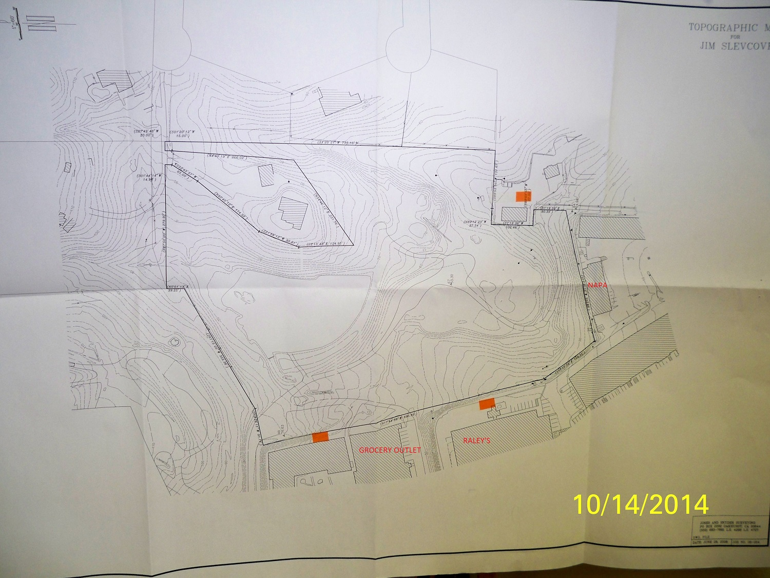 Cemetery expansion map