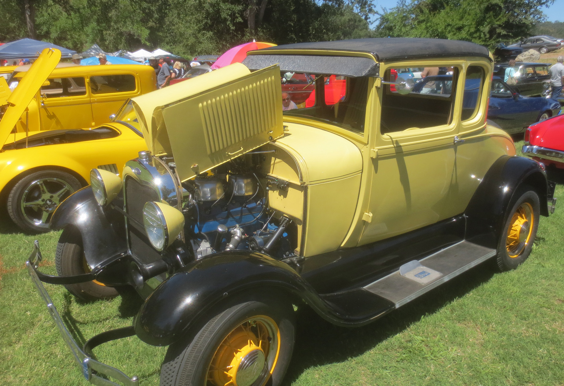 Coarsegold Car Show-5