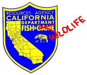 California dept of fish game has a new name sierra for Ca dept of fish and game