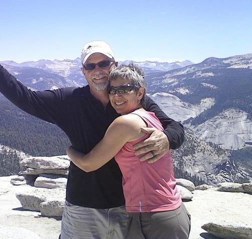 Tim and Susan Madden on Half Dome cropped