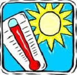Thermometer and sun - Toronto Public Library 2013