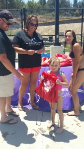 BBBS Summer Splash - it's exciting - in Oakhurst 2015 at YHS Pool