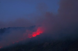 July 28 Willow Fire V by Jimmy Quilter