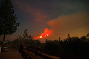 July 28 Willow Fire VI by Jimmy Quilter