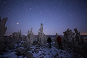Mono Lake with Scott and Nick - photo by Dark Sky Photography