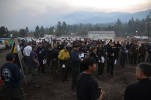 Morning Briefing Willow Fire 7-28-15