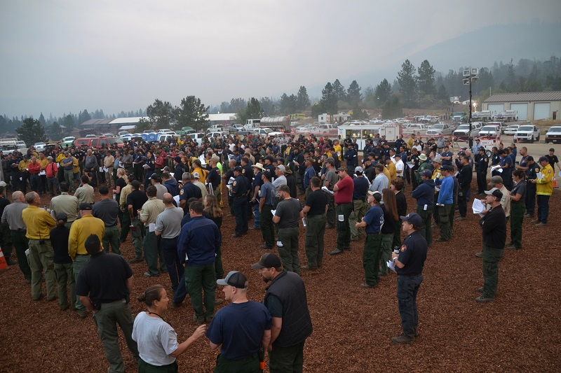 Morning Briefing Willow Fire 7-30-15