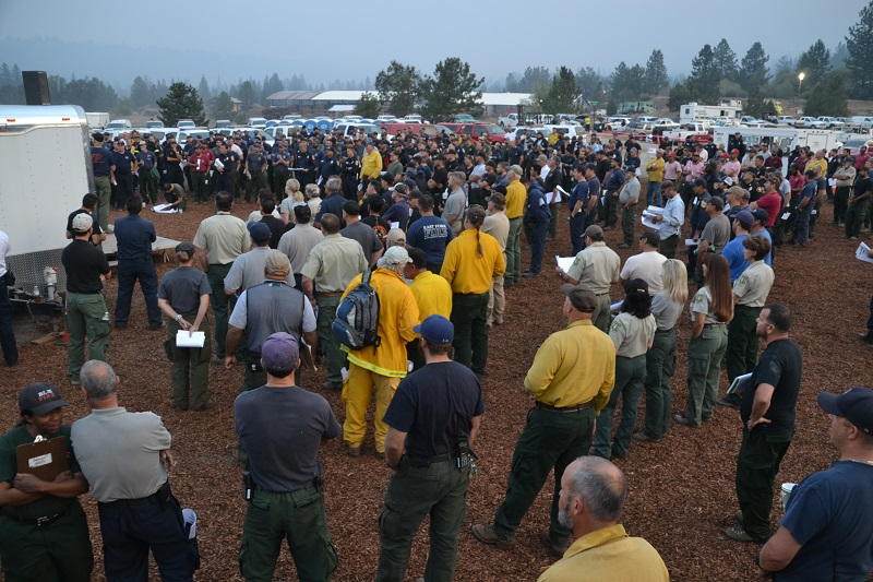 Morning Briefing Willow Fire 7-31-15