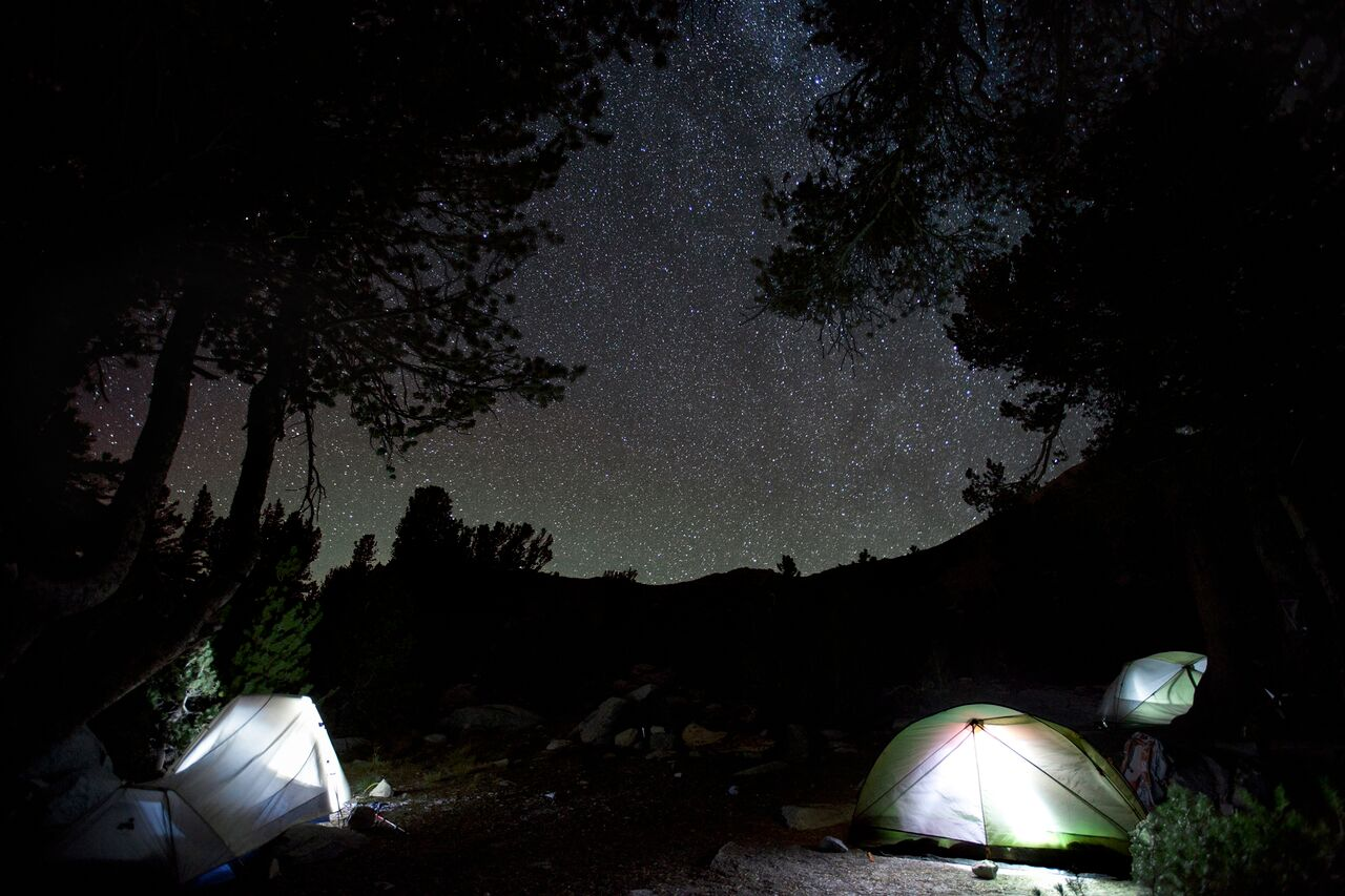 Pica Lake Camping photo by Dark Sky Photography |