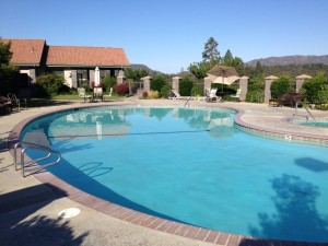 Sierra Meadows Golf Course and Country Club Pool - photo by Dave Briley