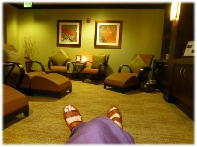 Waiting Room for Spa Treatment