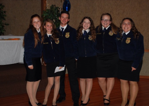 2015-16 Officers Team Yosemite FFA