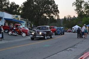 Main Street North Fork Hot August Night - photo by Gina Clugston