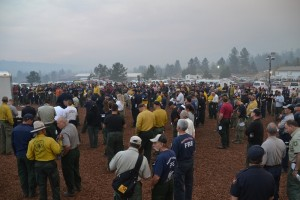 Morning Briefing Willow Fire 8-1-15