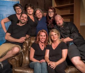 Odd Couple Cast Photo 9 by Steve Montalto Back
