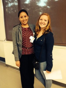 UCSF Biomed Clara Briley with Dr. Candice Yuvienco