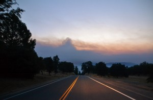 Willow Fire Aug 1