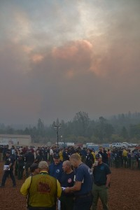 Willow Fire over morning briefing 8-1-15