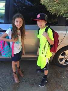 Zoe and Oscar go to Coarsegold Elementary School (Stefanie Romero)