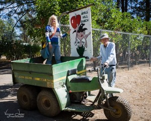 Apple Hill Ranch with Cheryl and John 2015 - photo by Virginia Lazar