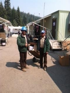 CCC workers on Rough Fire - photo SNF