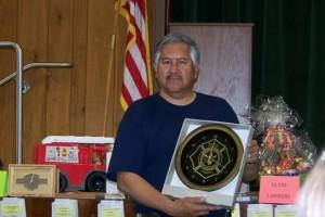 Frank Verduzco Firefighter of the Year