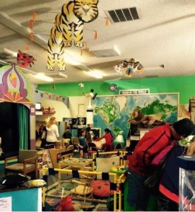 Inside the Children's Museum of the Sierra - photo courtesy Sierra Shadow Casters Motorcycle Club
