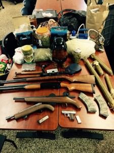 Items found in Michael Cutter's home during search 9-3-15