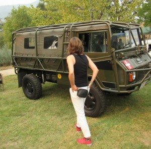 Kiwanis Run for the Gold 2015 Humvee - Larry Langley